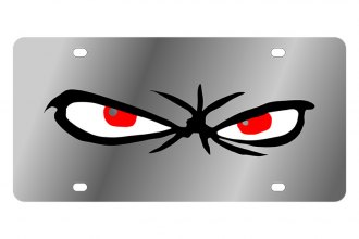 Eurosport Daytona® 1936-1 - LSN License Plate with Scary Eyes Logo
