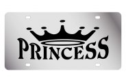 Eurosport Daytona® - Princess with Crown LSN Series License Plate