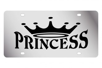 Eurosport Daytona® - LSN License Plate with Princess with crown Logo