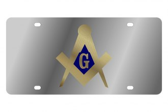 Eurosport Daytona® - LSN License Plate with Masonic Logo