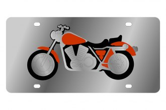 Eurosport Daytona® - LSN License Plate with Motorcycle Logo