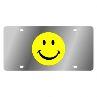 Eurosport Daytona® - LSN License Plate with Smiley Face Logo