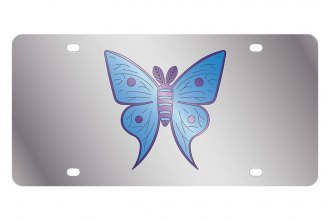 Eurosport Daytona® - LSN License Plate with Butterfly Multicolor Logo