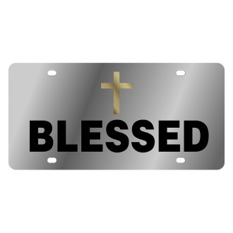 Eurosport Daytona® - LSN License Plate with Truly Blessed Logo