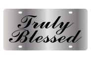 Eurosport Daytona® - Truly Blessed LSN Series License Plate