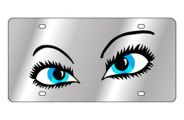 Eurosport Daytona® - Pretty Eyes LSN Series License Plate