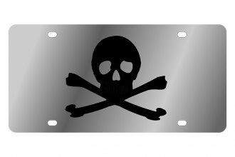 Eurosport Daytona® - Skull and Crossbones LSN Series License Plate