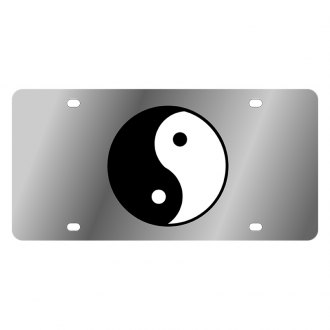 Eurosport Daytona® - LSN License Plate with Yin & Yang Logo