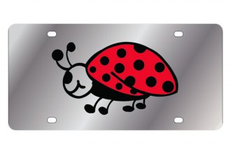 Eurosport Daytona® - Lady Bug LSN Series License Plate