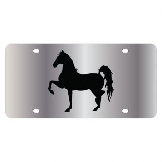 Eurosport Daytona® - LSN License Plate with Horse 1 Logo