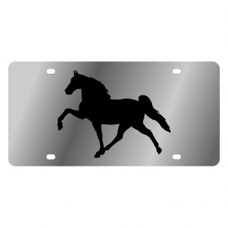 Eurosport Daytona® - LSN License Plate with Horse 4 Logo