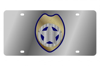 Eurosport Daytona® - Police Badge LSN Series License Plate
