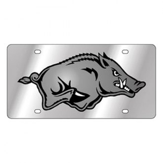 Eurosport Daytona® - Collegiate University of Arkansas License Plate