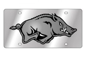 Eurosport Daytona® 1995-ARK1-BM - Collegiate University of Arkansas License Plate