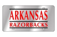 Eurosport Daytona® - University of Arkansas License Plate
