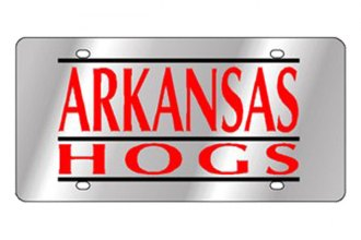 Eurosport Daytona® 1995-ARK3 - Collegiate University of Arkansas License Plate