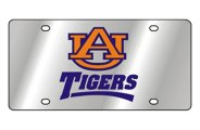 Eurosport Daytona® - University of Auburn License Plate