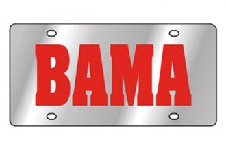 Eurosport Daytona® 1995-BAMA1 - Collegiate University of Alabama License Plate