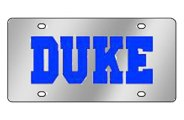 Eurosport Daytona® - University of Duke License Plate