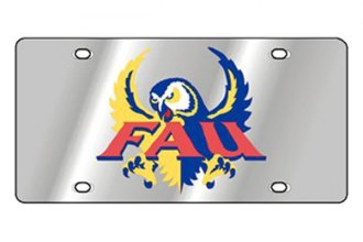 Eurosport Daytona® 1995-FAU1 - Collegiate Florida Atlantic University License Plate