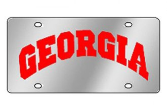 Eurosport Daytona® 1995-GEOR15 - Collegiate University of Georgia License Plate