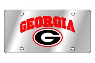 Eurosport Daytona® - Collegiate University of Georgia License Plate