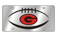 Eurosport Daytona® - University of Georgia License Plate