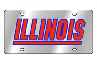 Eurosport Daytona® - Collegiate University of Illinois License Plate