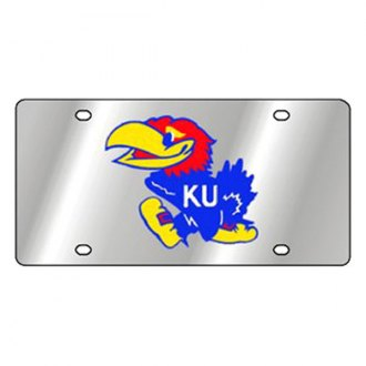 Eurosport Daytona® - Collegiate Kansas University License Plate