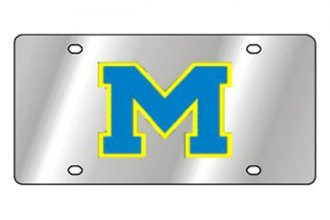 Eurosport Daytona® 1995-MICH1 - Collegiate University of Michigan License Plate