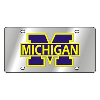 Eurosport Daytona® - Collegiate University of Michigan License Plate