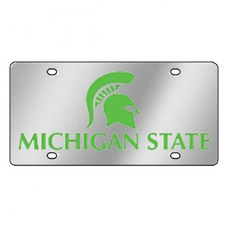Eurosport Daytona® 1995-MSU2 - Collegiate Michigan State University License Plate