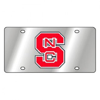Eurosport Daytona® - Collegiate North Carolina State University License Plate