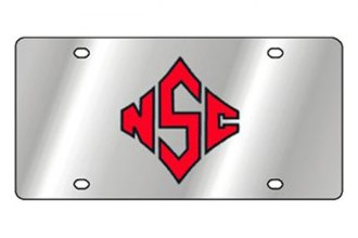 Eurosport Daytona® 1995-NCSU2 - Collegiate North Carolina State University License Plate