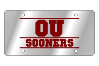 Eurosport Daytona® 1995-OU2 - Collegiate Oklahoma University License Plate