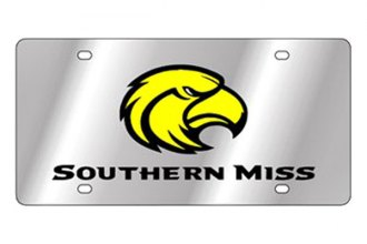 Eurosport Daytona® - Collegiate University of Southern Mississippi License Plate
