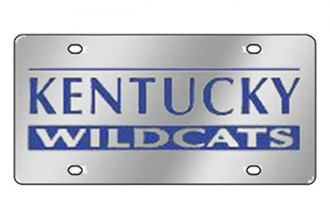 Eurosport Daytona® - Collegiate University of Kentucky License Plate