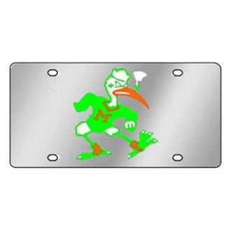 Eurosport Daytona® - Collegiate University of Miami License Plate