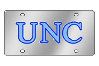 Eurosport Daytona® 1995-UNC3 - Collegiate University of North Carolina License Plate
