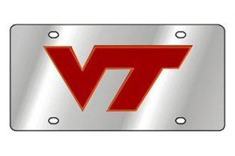 Eurosport Daytona® 1995-VT1 - Collegiate Virginia Tech University License Plate