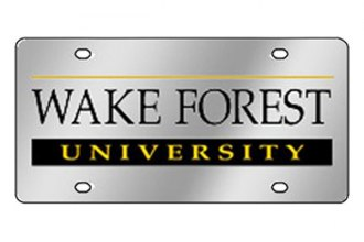 Eurosport Daytona® 1995-WFU2 - Collegiate Wake Forest University License Plate