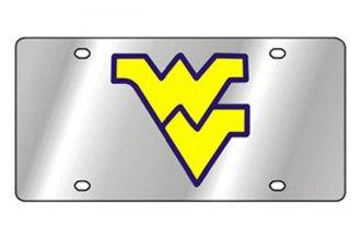 Eurosport Daytona® 1995-WVU1 - Collegiate University of West Virginia License Plate