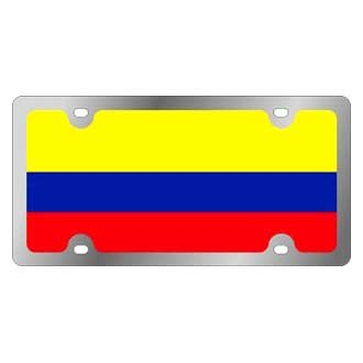 Eurosport Daytona® - Flags Style License Plate