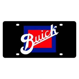 Eurosport Daytona® - GM License Plate with Buick Retro Logo