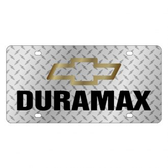 Eurosport Daytona® - GM License Plate with Duramax Logo