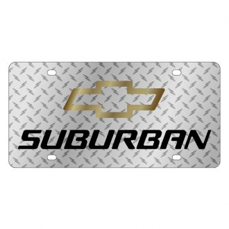 Eurosport Daytona® - GM License Plate with Suburban Logo