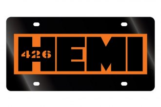 Eurosport Daytona® - License Plate with 426 Hemi Logo