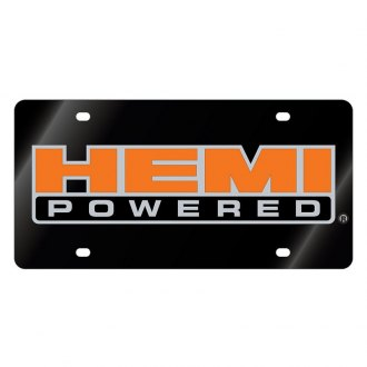 Eurosport Daytona® - License Plate with Hemi Powered Logo