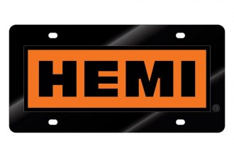 Eurosport Daytona® - License Plate with Hemi Boxed Word Only