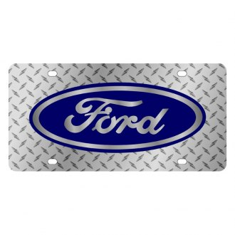 Eurosport Daytona® - Ford Motor Company Diamond License Plate with Silver Ford Logo